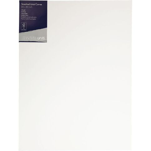 Uniti Platinum Canvas 30x40 Inches 380Gsm