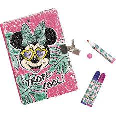 Disney Lockable Diary Set A5