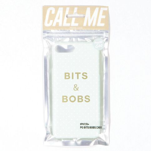 iPhone 7+/8+ Pastel Geo Bits & Bobs Case