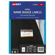 Avery Fabric Name Badge Laser Labels