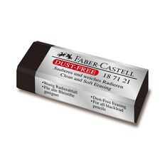 Faber-Castell Dust Free Eraser Black