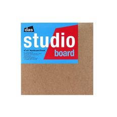 DAS Studio 3/4 Hardboard 8 x 8 Brown