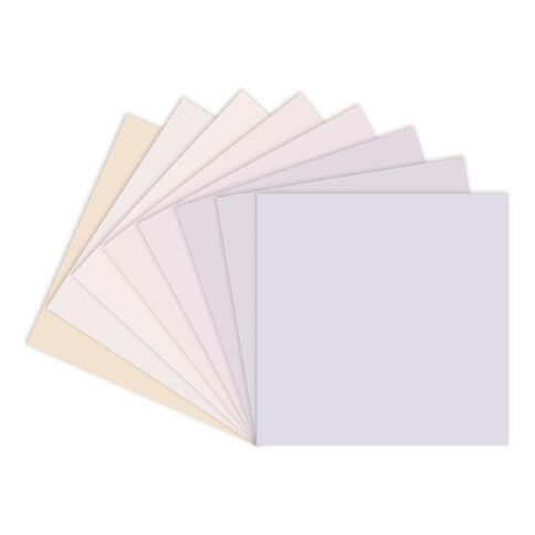 Craft Smith Paper Pad 12in x 12in Winter Whites