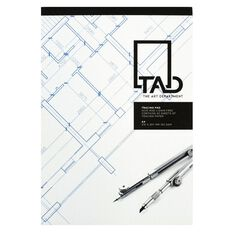 The Art Department Tracing Pad Clear A4