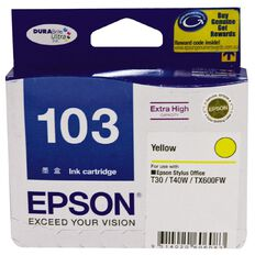 Epson Ink T103 Yellow (865 Pages)