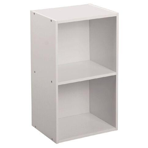 Living & Co Mia Bookcase 2 Tier White