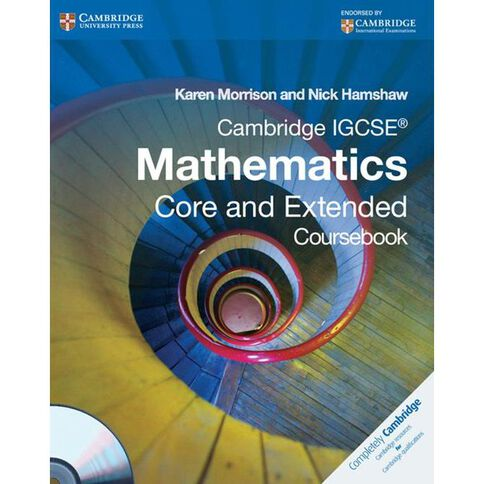 Igcse Year 11 Core And Ext Mathematics Coursebook