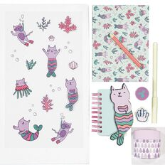 Kookie Cat-Y-Maid Stationery Set 8 Pieces