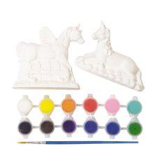 Kookie Paint Your Own Plaster Unicorns 2 Pack