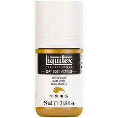 Liquitex Soft Body Acrylic 59ml Yellow Oxide S1