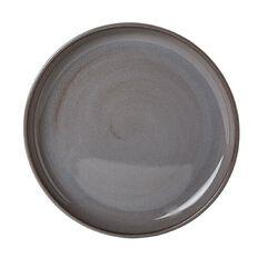 Living & Co Kina Side Plate Charcoal