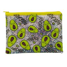 Uniti Fun & Funky Q4 PVC Pencil Case Avocado