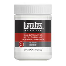 Liquitex Gloss Super Heavy Gel Medium 237ml