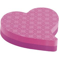 Post-It Super Sticky Heart & Butterfly 7350 Assorted