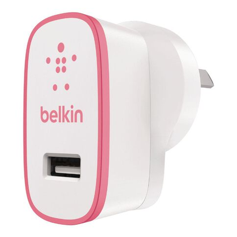 Belkin Boost Up 2.4A Home Charger Pink