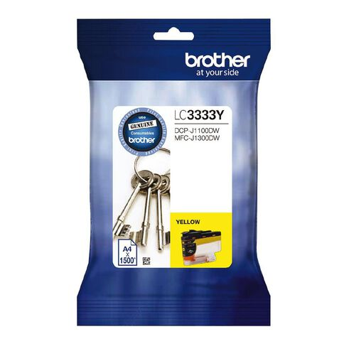 Brother Ink LC3333 Yellow (1500 Pages)
