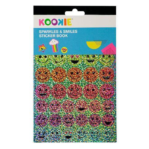 Kookie Sticker Book 5 Page Sparkles & Smiles