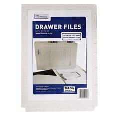 Filecorp 2502 Top Left Hand Pocket File 10 Pack White