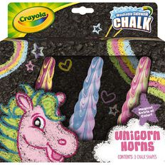 Crayola Unicorn Chalk 3 Pack