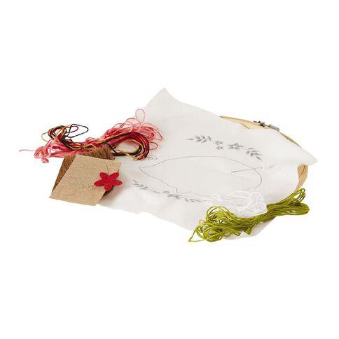 Uniti Embroidery Kit Hedgehog