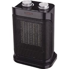 Living & Co Ceramic Heater with Oscillation 1500W Black