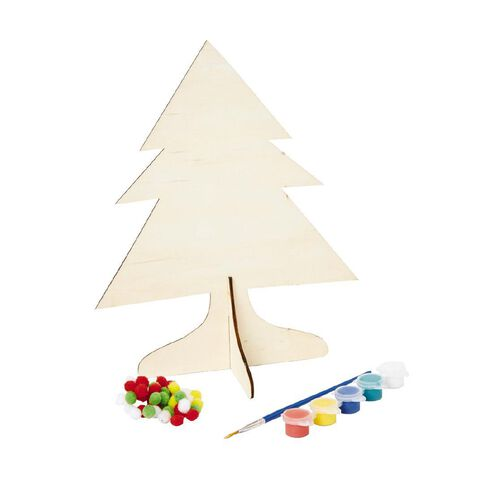 Wonderland Chipboard Tree Kit