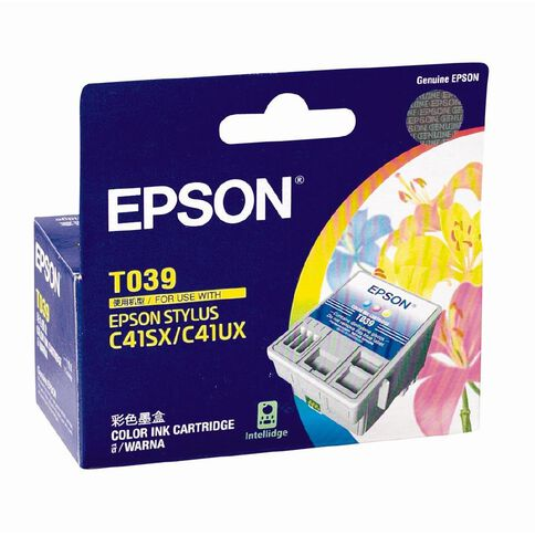 Epson Ink T039091 Colour (180 Pages)