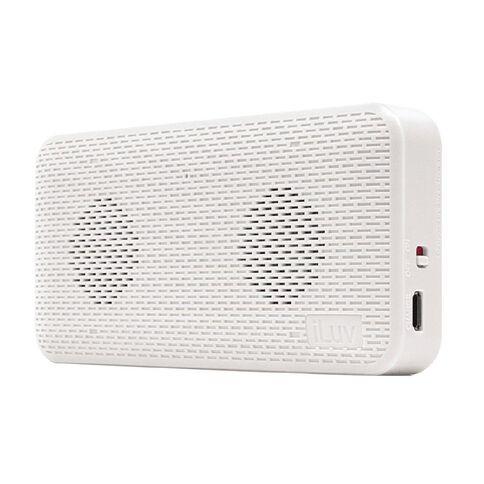 iLuv Ultra Slim Wireless Bluetooth Speaker White