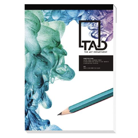 The Art Department Sketch Pad 110gsm A5 White A5