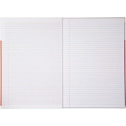 Impact Lecture Book 2B8 7mm Ruled Hardcover 94 Leaf Red
