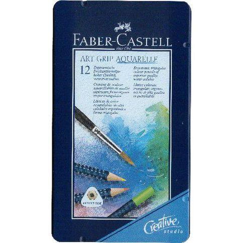 Faber-Castell Art Grip Aquarelle Tin