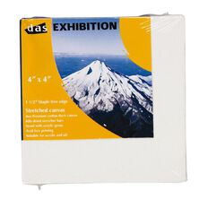 DAS 1.5 Exhibition Canvas 4 x 4in White