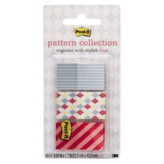 Post-It Pattern Flags 682-Candy 23.8mm x 43.2mm Candy Collection