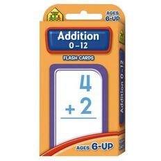 Flashcards Addition (6+) by Schoolzone