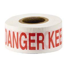 Esko Warning Tape - Danger 75mm X 250m (50 Micron)