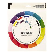 Reeves Watercolour Colour Wheel