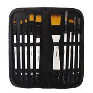 Jasart Brush Wallet Set 10 Piece