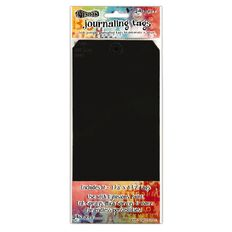 Ranger Dylusions Black #10 Tags 4.125 X 8.5 Inches 10 Pack