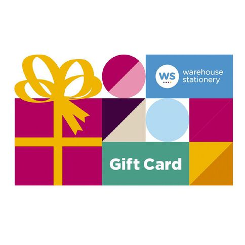 Warehouse Stationery $10 Gift Card