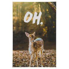 Banter Oh Deer Canvas