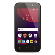 Warehouse Mobile Alcatel Pixi 4X Locked SIM Bundle Black