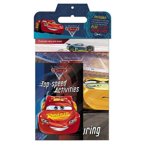 Disney Pixar Cars 3 Activity Pack