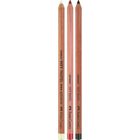 Faber-Castell Pitt Pastel Pencils 3t Assortment Multi-Coloured