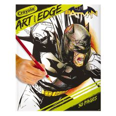 Crayola Art With Edge Batman Colouring Book