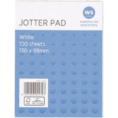 Impact Jotter Pad 100 Sheets 130x98mm White