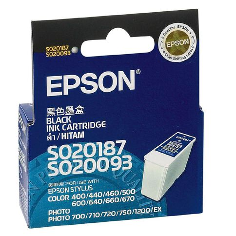 Epson Ink T050190 Black (540 Pages)