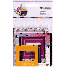 Rosie's Studio Here & Now Snappy Frames 7 Pack