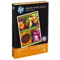 HP Photocopy Paper Inkjet 90gsm 250 Pack Bright White A4
