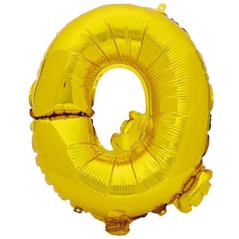 Artwrap Foil Balloon Q Gold 35cm