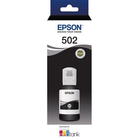 Epson T502 Ink Black (7500 Pages)